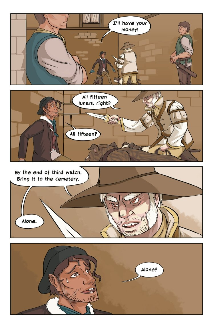 A Fistful of Lunars Page 5